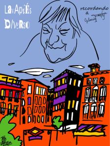 Lavapiés Diverso 2015 | Cartel Recordando a Gloria Fuertes | Web