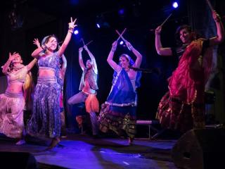Lavapiés Diverso 2015 | Concierto Plaza de Agustín Lara | 14/11/2015 | Compañía de Danza Salaam | 7 | Foto Paula Díaz/PqHdM