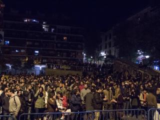 Lavapiés Diverso 2015   Concierto Plaza de Agustín Lara   14/11/2015   Público   2   Foto Paula Díaz/PqHdM