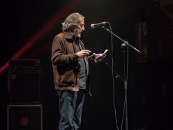 Lavapiés Diverso 2015 | Concierto Teatro Circo Price | 17/11/2015 | Presidente Asociación de Vecinos La Corrala | Foto Paula Díaz/PqHdM