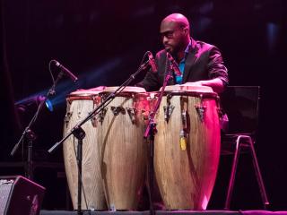 Lavapiés Diverso 2015 | Concierto Teatro Circo Price | 17/11/2015 | Sekou Kouyate | 4 | Foto Paula Díaz/PqHdM