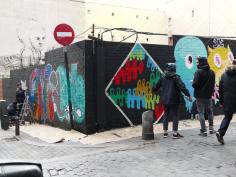 Lavapiés Diverso 2015 | 'Muro Abierto' | Jam de graffiti y arte urbano | 22/11/2015 | 12 | Foto Yolanda Pérez