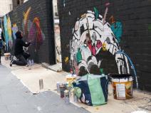 Lavapiés Diverso 2015   'Muro Abierto'   Jam de graffiti y arte urbano   22/11/2015   13   Foto Yolanda Pérez