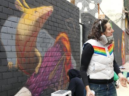 Lavapiés Diverso 2015   'Muro Abierto'   Jam de graffiti y arte urbano   22/11/2015   14   Foto Yolanda Pérez