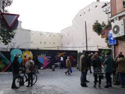 Lavapiés Diverso 2015   'Muro Abierto'   Jam de graffiti y arte urbano   22/11/2015   15   Foto Yolanda Pérez