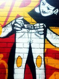 Lavapiés Diverso 2015 | 'Muro Abierto' | Jam de graffiti y arte urbano | 22/11/2015 | 18 | Foto Yolanda Pérez