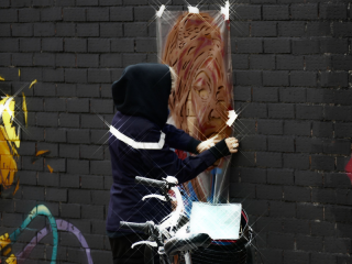 Lavapiés Diverso 2015 | 'Muro Abierto' | Jam de graffiti y arte urbano | 22/11/2015 | 19 | Foto Yolanda Pérez
