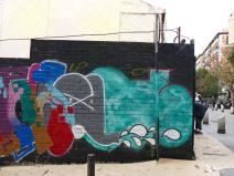 Lavapiés Diverso 2015 | 'Muro Abierto' | Jam de graffiti y arte urbano | 22/11/2015 | 2 | Foto Yolanda Pérez