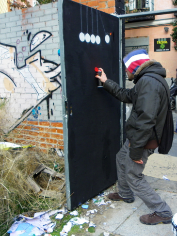 Lavapiés Diverso 2015 | 'Muro Abierto' | Jam de graffiti y arte urbano | 22/11/2015 | 21 | Foto Yolanda Pérez