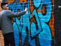 Lavapiés Diverso 2015 | 'Muro Abierto' | Jam de graffiti y arte urbano | 22/11/2015 | 22 | Foto Yolanda Pérez