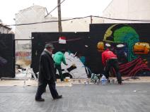 Lavapiés Diverso 2015 | 'Muro Abierto' | Jam de graffiti y arte urbano | 22/11/2015 | 4 | Foto Yolanda Pérez