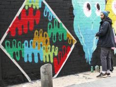Lavapiés Diverso 2015 | 'Muro Abierto' | Jam de graffiti y arte urbano | 22/11/2015 | 5 | Foto Yolanda Pérez