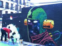Lavapiés Diverso 2015 | 'Muro Abierto' | Jam de graffiti y arte urbano | 22/11/2015 | 6 | Foto Yolanda Pérez