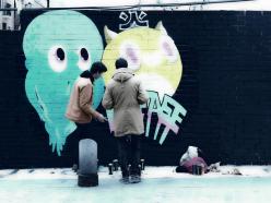 Lavapiés Diverso 2015 | 'Muro Abierto' | Jam de graffiti y arte urbano | 22/11/2015 | 7 | Foto Yolanda Pérez
