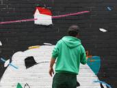 Lavapiés Diverso 2015 | 'Muro Abierto' | Jam de graffiti y arte urbano | 22/11/2015 | 8 | Foto Yolanda Pérez