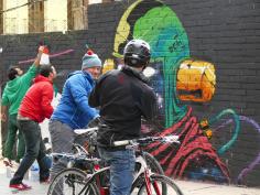 Lavapiés Diverso 2015 | 'Muro Abierto' | Jam de graffiti y arte urbano | 22/11/2015 | 24 | Foto Yolanda Pérez