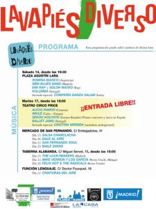 Lavapiés Diverso 2015 | Música | Programa