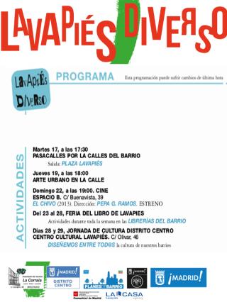 Lavapiés Diverso 2015   Otras actividades   Programa