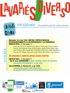 Lavapiés Diverso 2015 | Poesía | Programa