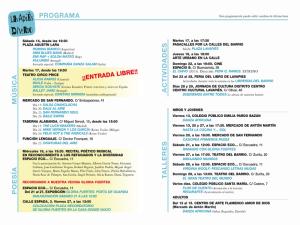 Lavapiés Diverso 2015 | Programación