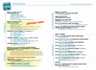 Lavapiés Diverso 2015   Programación