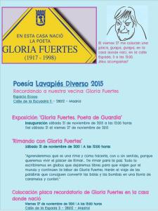 Lavapiés Diverso 2015 | Recordando a Gloria Fuertes | Actos programados