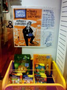 Lavapiés Diverso 2015 | 'Recordando a Gloria Fuertes' | Biblioteca Pública Municipal Ivén de Vargas | Noviembre 2015 | Madrid