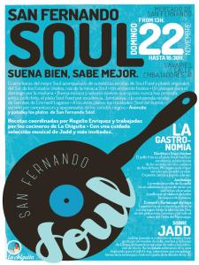 Lavapiés Diverso 2015 | San Fernando Soul | 'Suena bien, sabe mejor' | Mercado de San Fernando | 22/11/2015