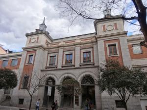 Mercado Municipal de San Fernando | Lavapiés | Madrid | Puerta principal