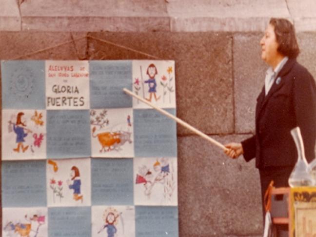 Centenario Gloria Fuertes | 1917-1998 | #GloriaFuertes100 | 'El balcón de Gloria Fuertes | 06/01/2017