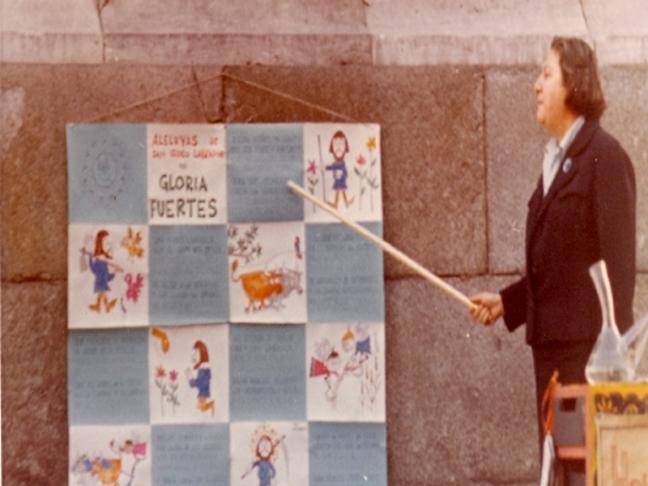 Centenario Gloria Fuertes | 1917-1998 | #gloriafuertes100 | El balcón de Gloria Fuertes | 12/02/2017