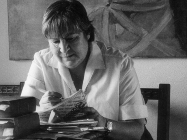 Centenario Gloria Fuertes | 1917-1998 | #gloriafuertes100 | El balcón de Gloria Fuertes | 28/04/2017 | 'Cosas que son tan perdibles'