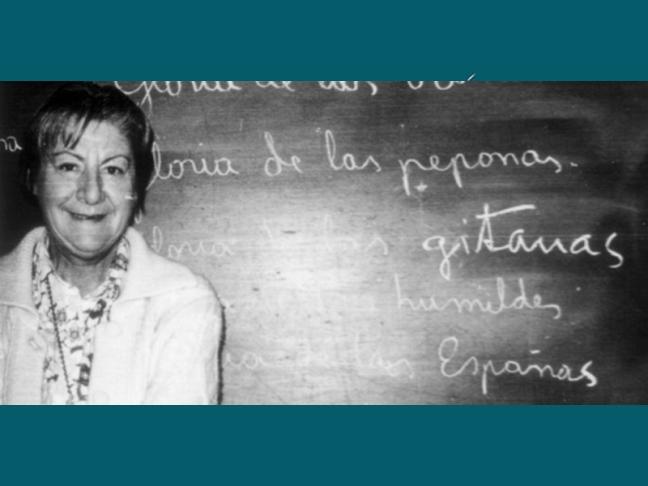 Centenario Gloria Fuertes | 1917-1998 | #gloriafuertes100 | El balcón de Gloria Fuertes | 31/05/2017 | 'Cuando me enteré'
