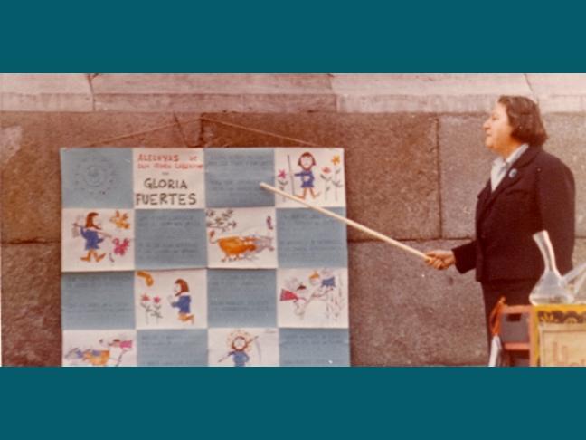 Centenario Gloria Fuertes | 1917-1998 | #gloriafuertes100 | El balcón de Gloria Fuertes | 07/07/2017 | Si me voy