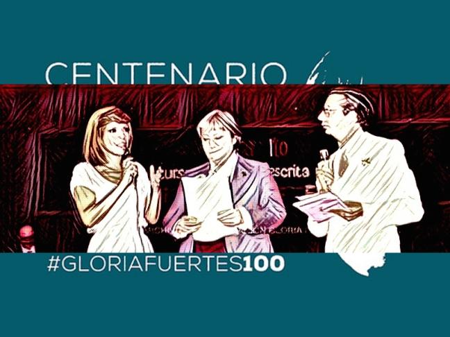 Centenario Gloria Fuertes | 1917-1998 | #gloriafuertes100 | El balcón de Gloria Fuertes | 27/07/2017 | Aunque avanzo, no dejo