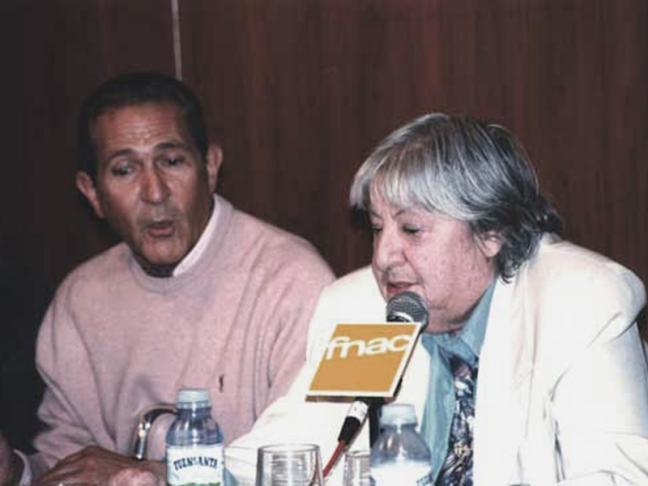 Centenario Gloria Fuertes | 1917-1998 | #gloriafuertes100 | El balcón de Gloria Fuertes | 06/12/2017 | Frente a mí se sentó